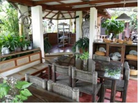 Interior view Hotel Rancho Olivier