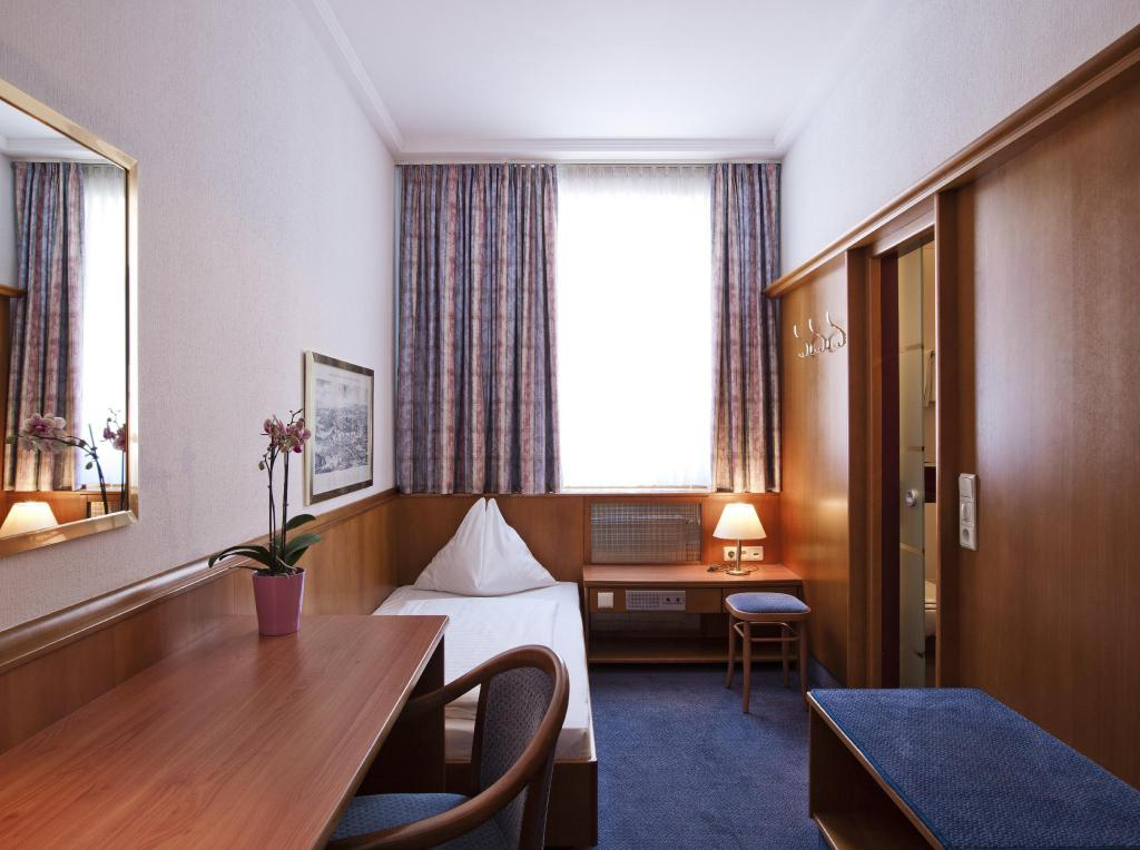 Standard Street View Single Room - View Austria Classic Hotel Wien