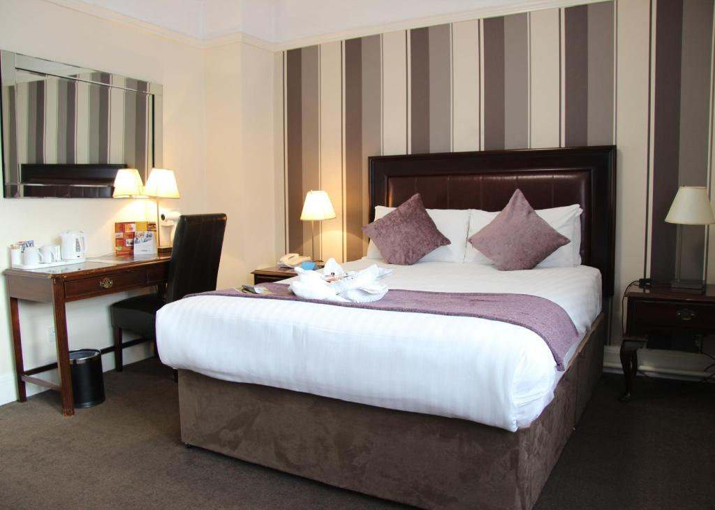 1 Double Bed Non Smoking - Bed Quality Inn Stoke-on-Trent