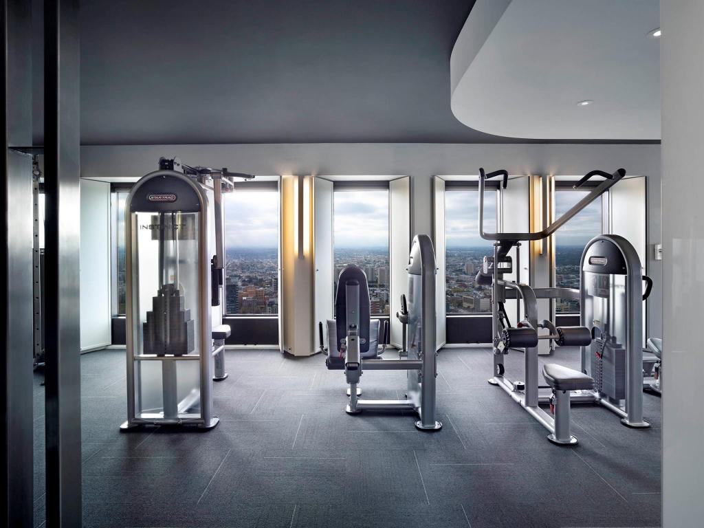 Fitness center Sofitel Melbourne on Collins Hotel