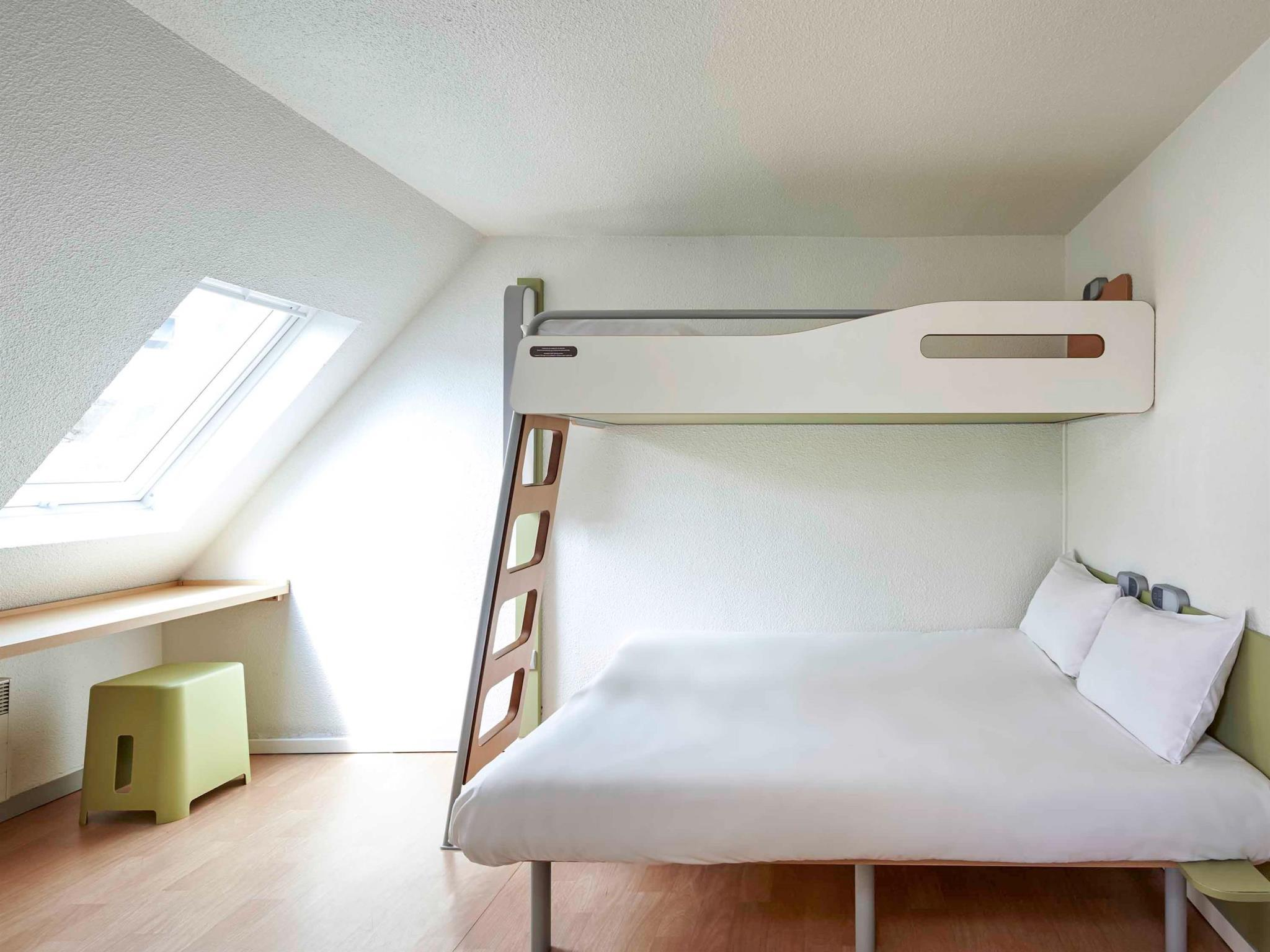 Triple Room with One Double and One Bunk Bed