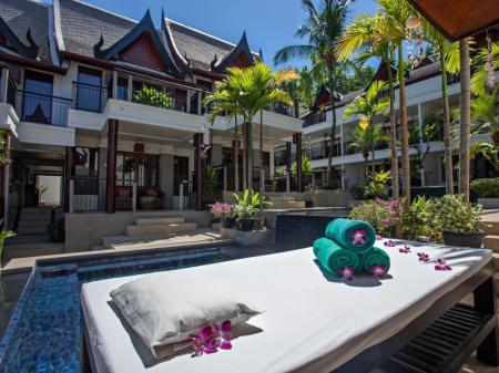 Hotelli interjöör Baan Yin Dee Boutique Resort