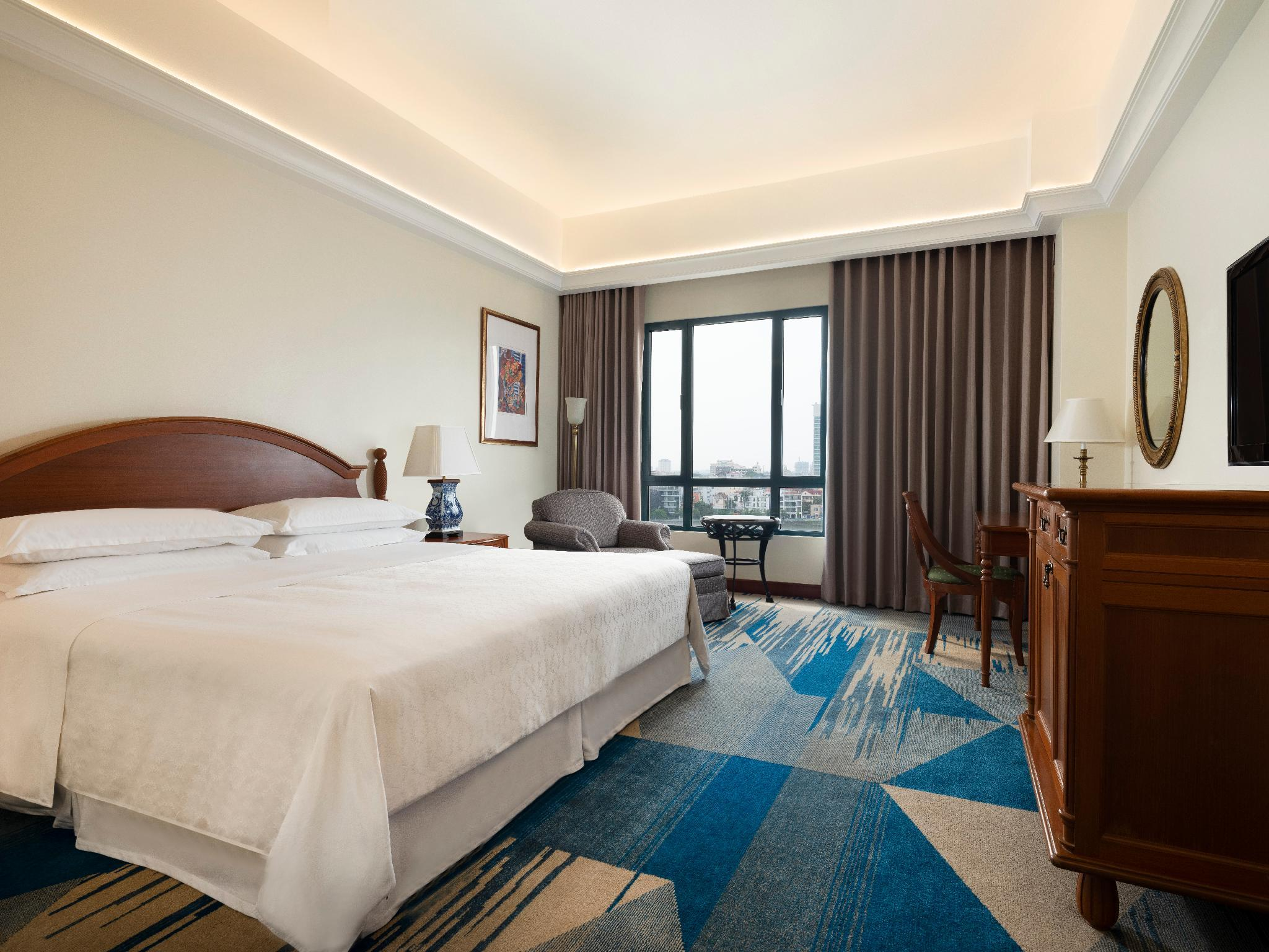 Grand Deluxe King, Guest room, 1 King, High floor