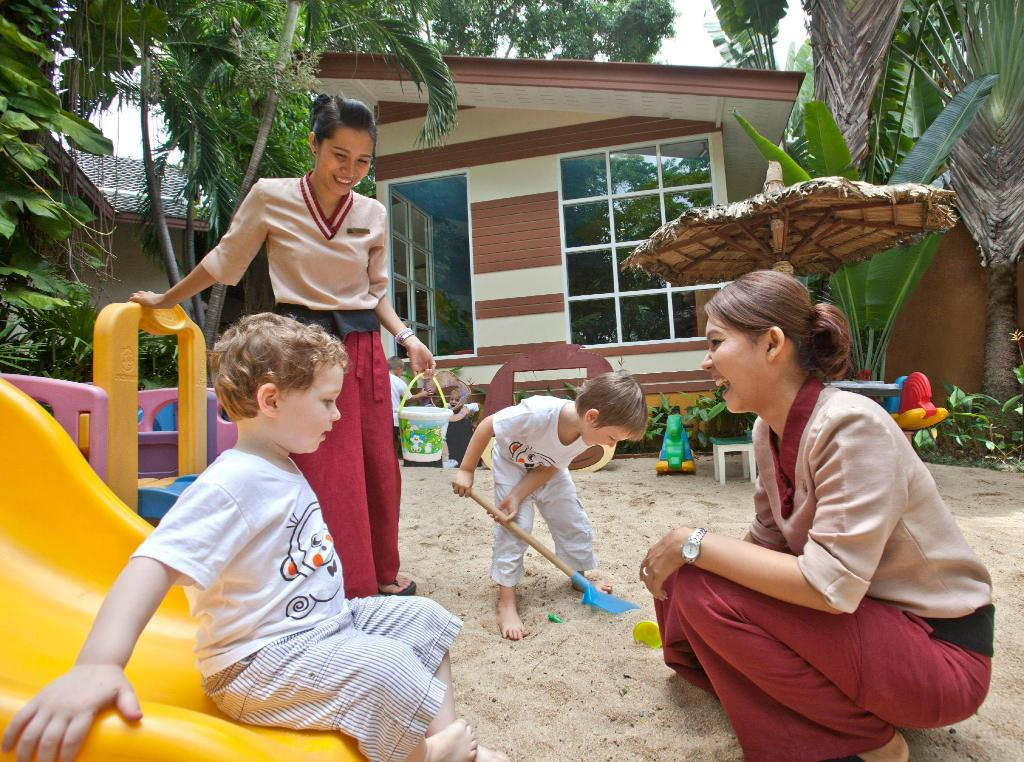 Kid's club Anantara Bophut Koh Samui Resort