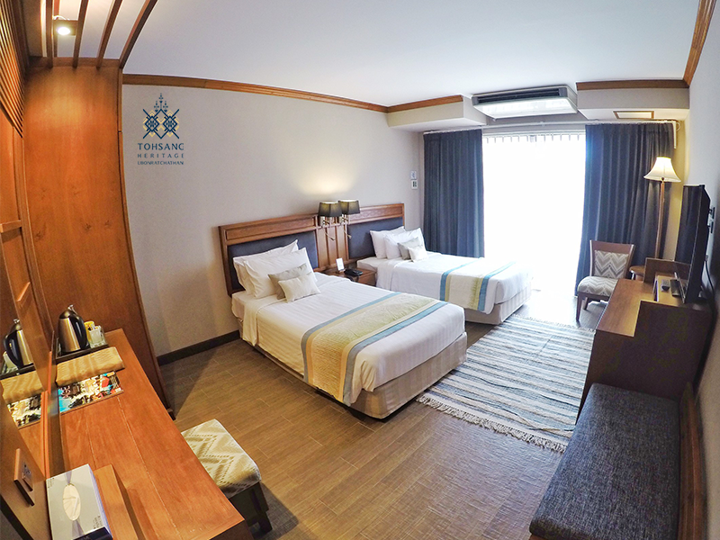 Grand Deluxe Twin Room With Balcony