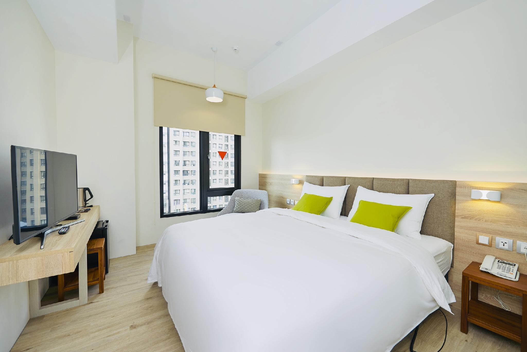 標準雙人房 大床(2張單人電動床合併)  (Hotel Z Standard Double Room with Combined 2 Electric Adjustable Single Beds)