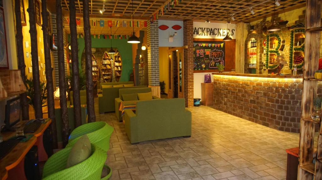 ردهة بيت شباب شيان يانجشو باكباكرز يوث (Yangshuo Backpackers Youth Hostel)