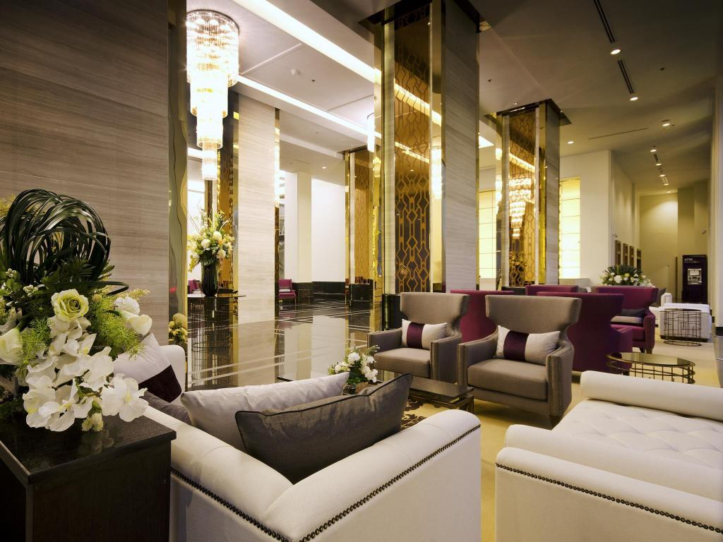 Lobby Grande Centre Point Hotel Ploenchit