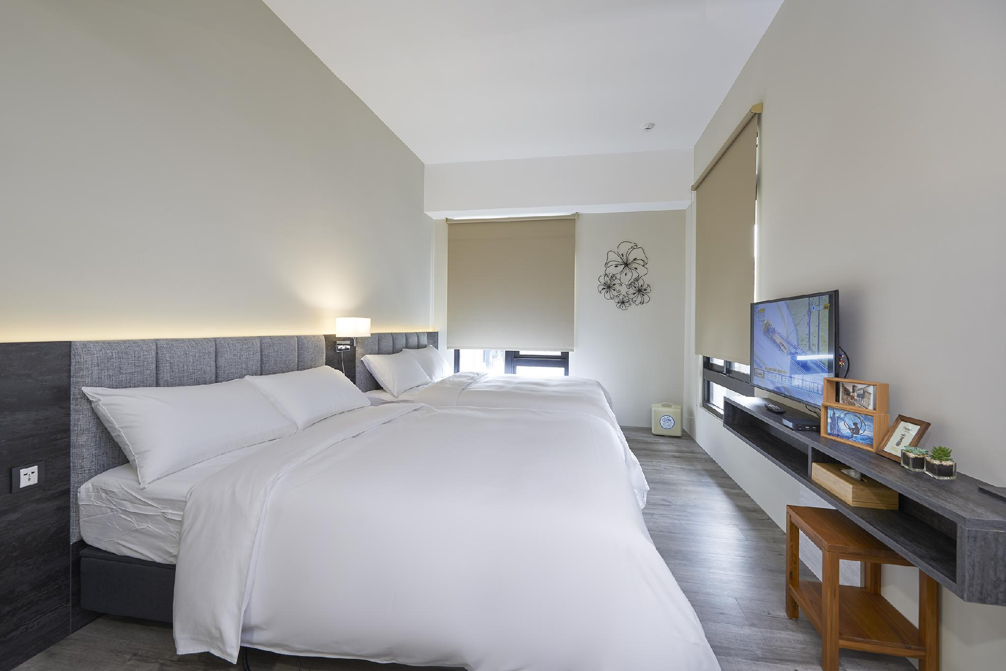標準4人房 2張雙人床(電動床) (Hotel Z Standard Quadruple Room with 2 Electric Adjustable Double Beds)