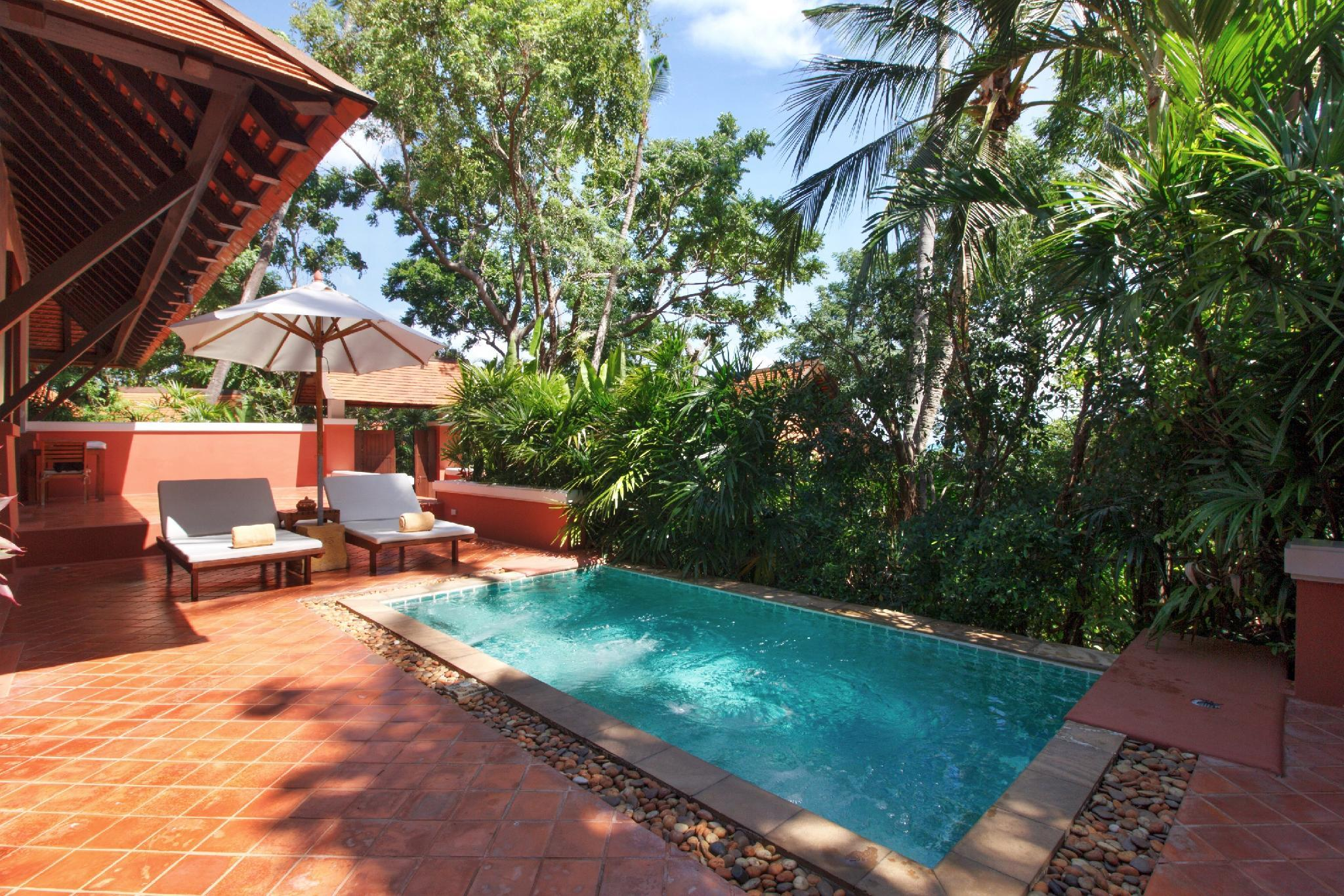 Private Pool Villa, 1 Bedroom Villa, 1 King, Garden view