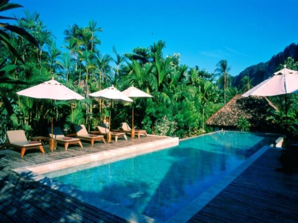 Swimming pool The Cliff Aonang Resort