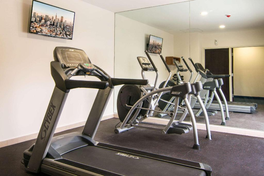 Fitness merkezi Sleep Inn Tijuana