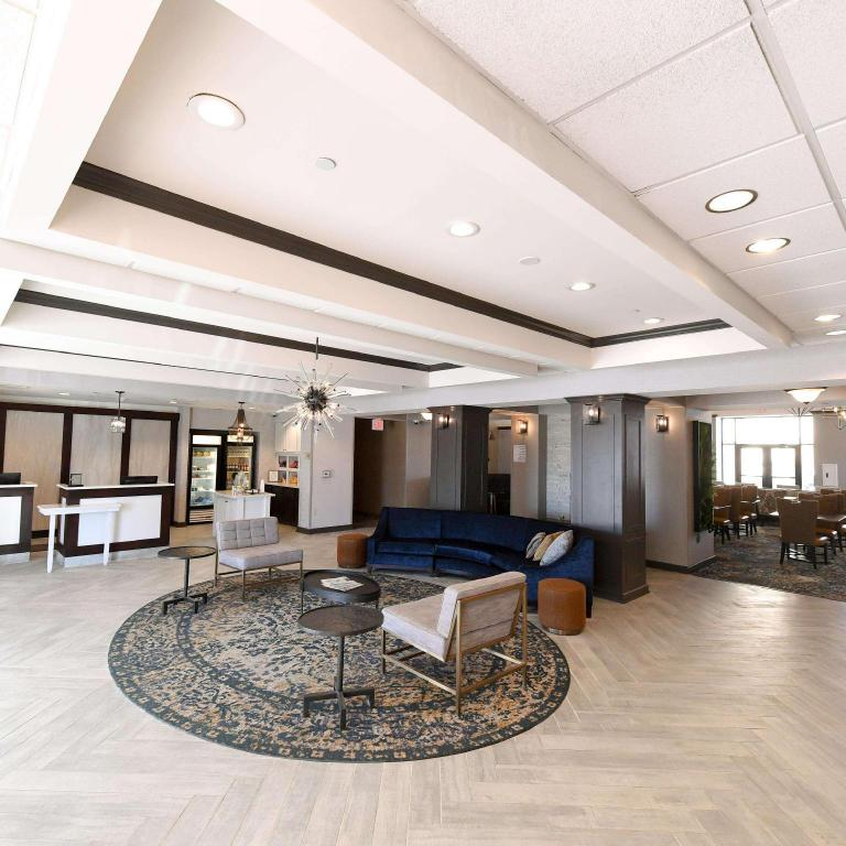 Lobby Homewood Suites By Hilton Orland Park Hotel