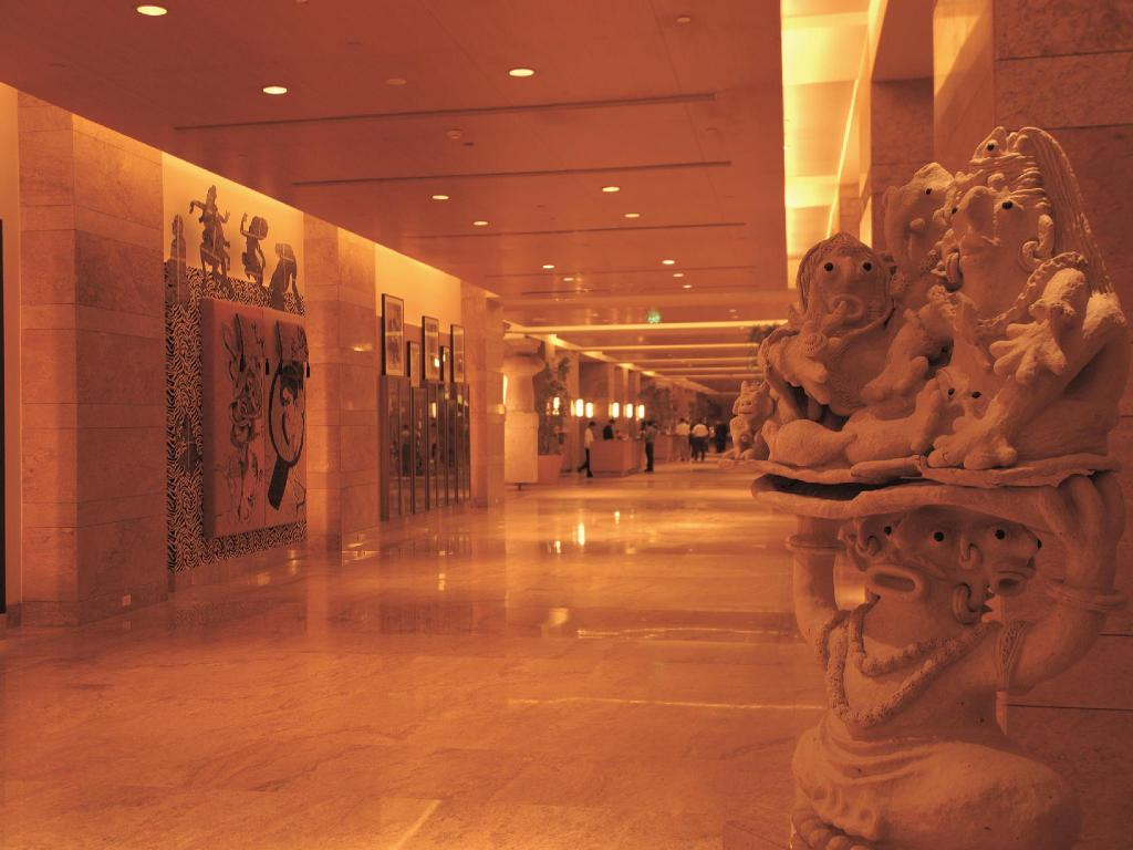 Lobby Grand Hyatt Mumbai