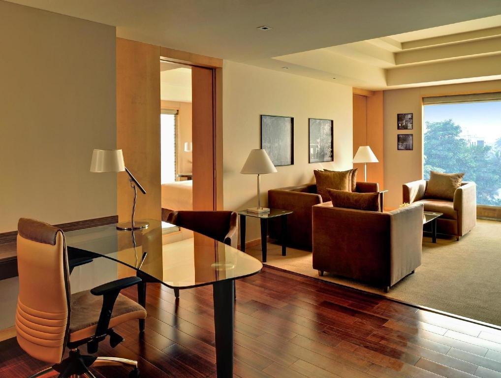 Interior view Grand Hyatt Mumbai