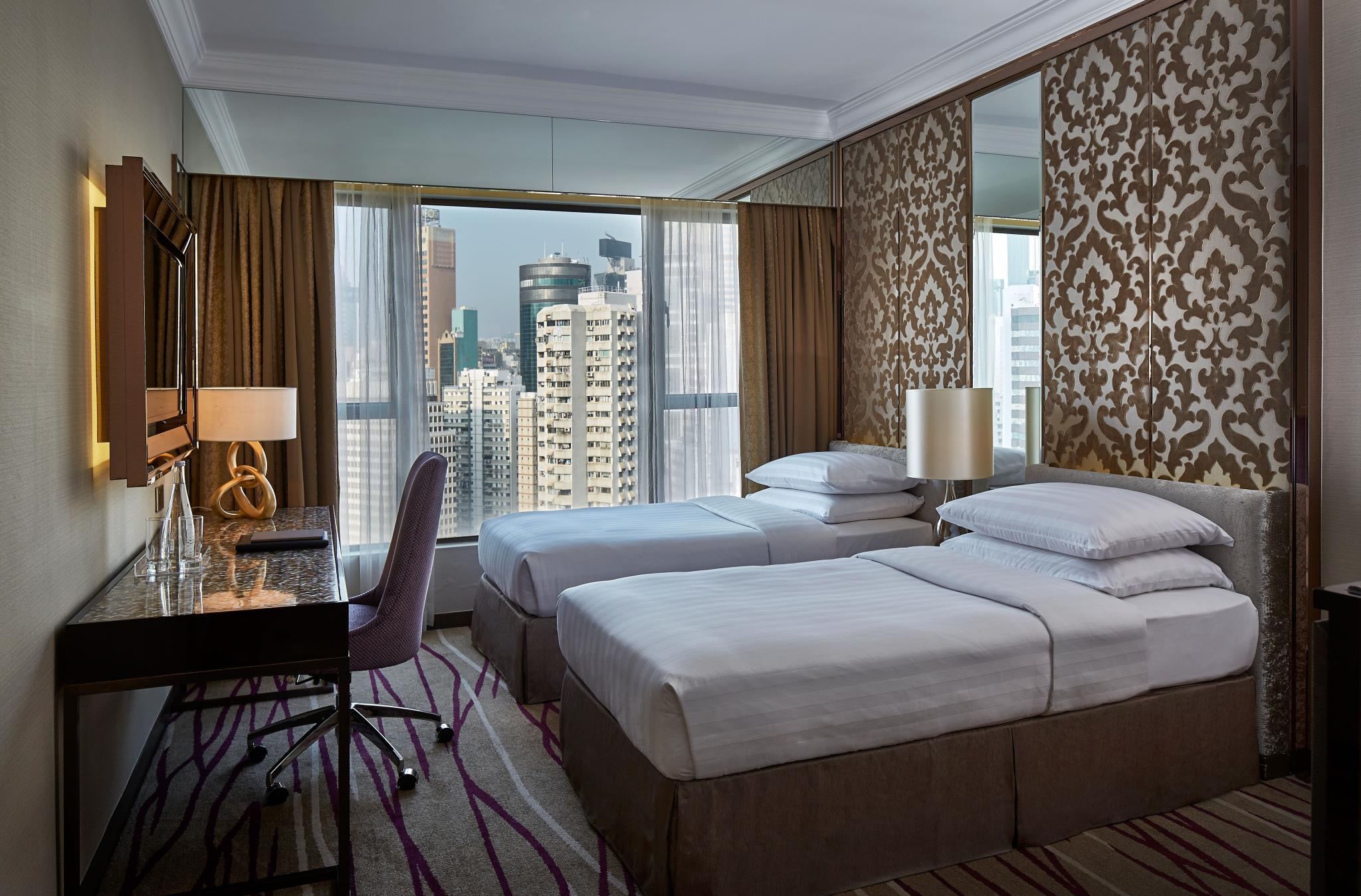 חדר Dorsett גרנד דלוקס עם נוף ל-Causeway Bay (Dorsett Grand Deluxe Causeway Bay City View Room)