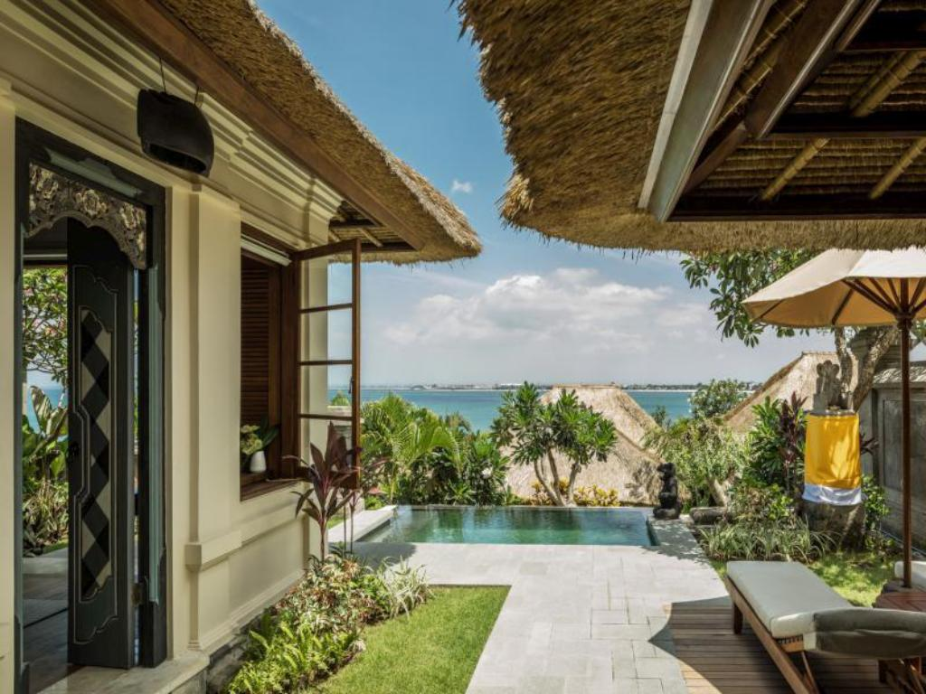 Jimbaran Bay Villa with 1 King Size Bed - View Four Seasons Resort Bali at Jimbaran Bay