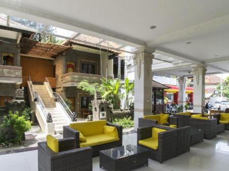 Lobby Melasti Kuta Bungalows and Spa