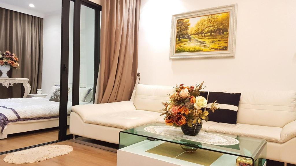 55 négyzetméteres, 1 hálószobás, 1 saját fürdőszobával rendelkező Apartman Trung Hoa Nhan Chinh ter (Royal City Apartment - in Ha Noi Center)