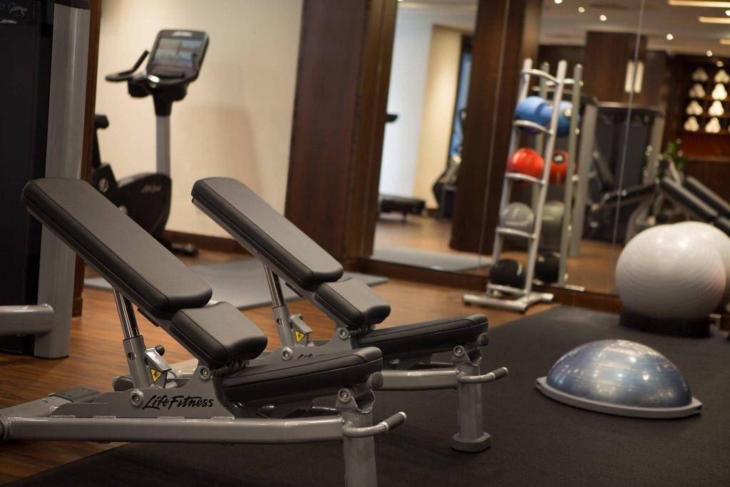 Fitness center Renaissance Amsterdam Hotel