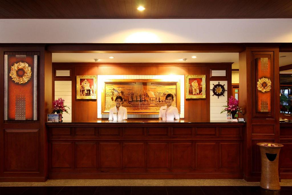 Lobi Best Western Premier Bangtao Beach Resort & Spa