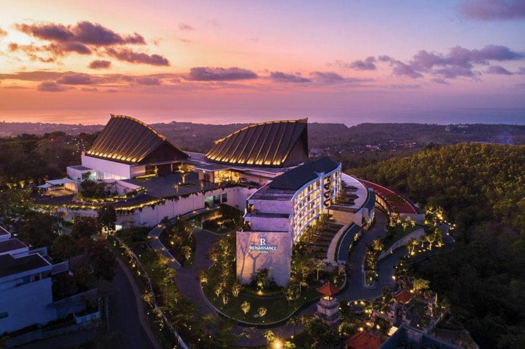 Carte Bali Superficie.Renaissance Bali Uluwatu Resort Spa Bali Indonesie