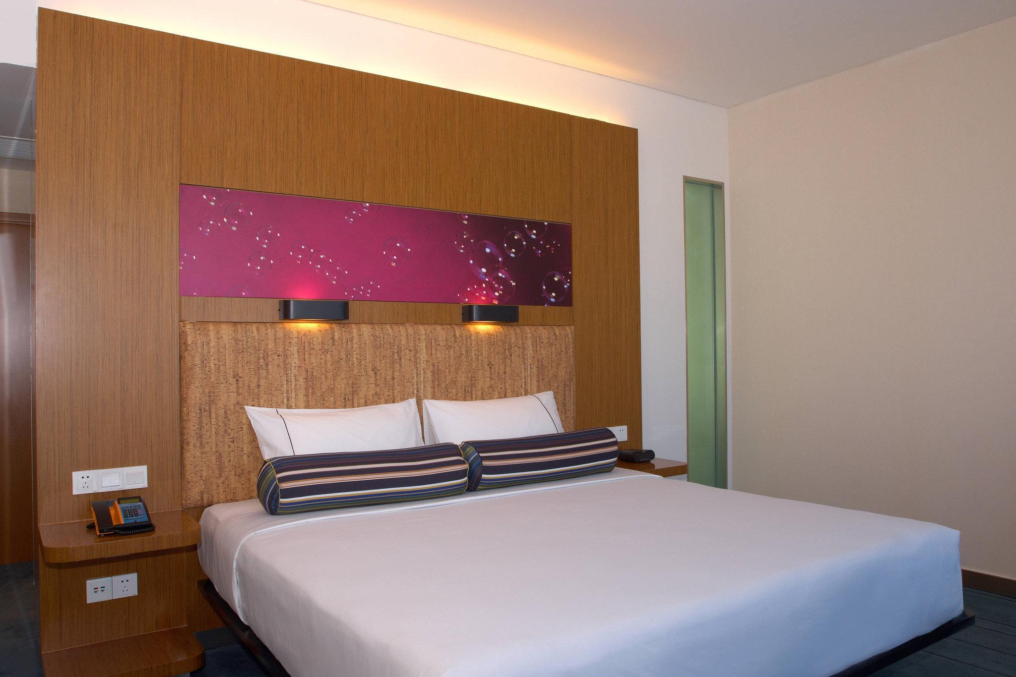 Aloft Room, Guest room, 1 King, City view
