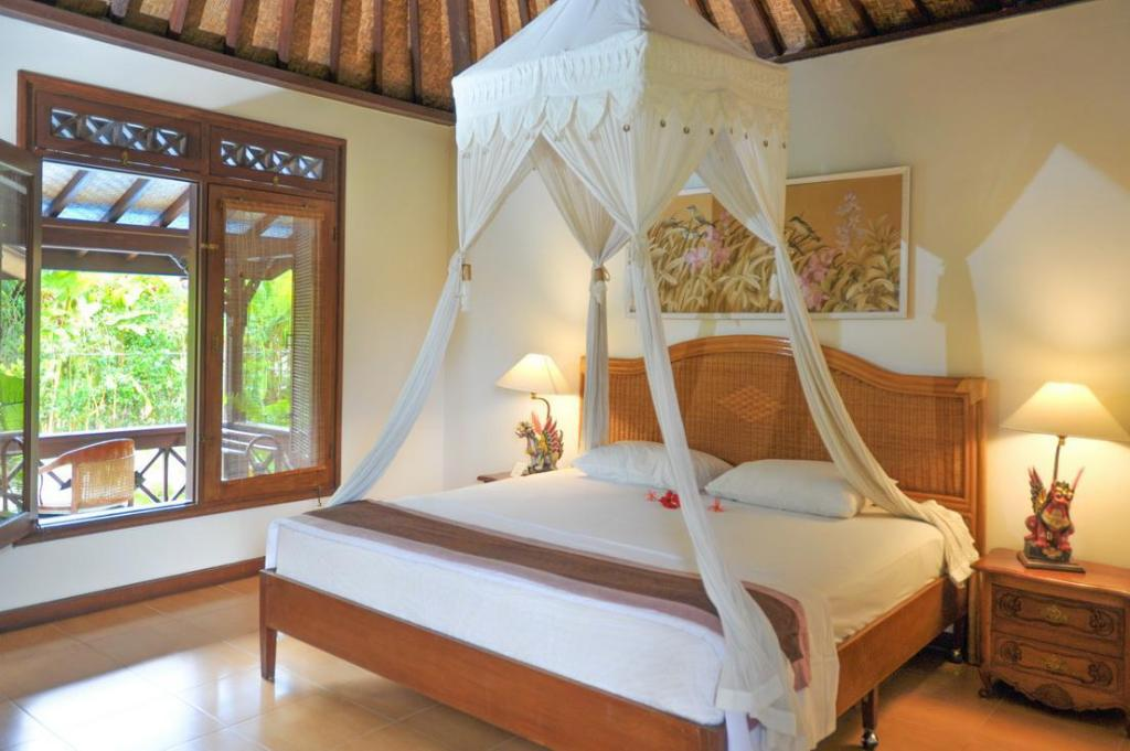 1 Bedroom Cottage - Bed Villa Chempaka Hotel