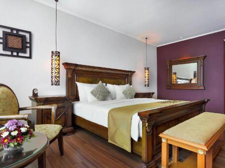 Deluxe 1 King Bed - Room plan The Royal Surakarta Heritage Solo MGallery by Sofitel