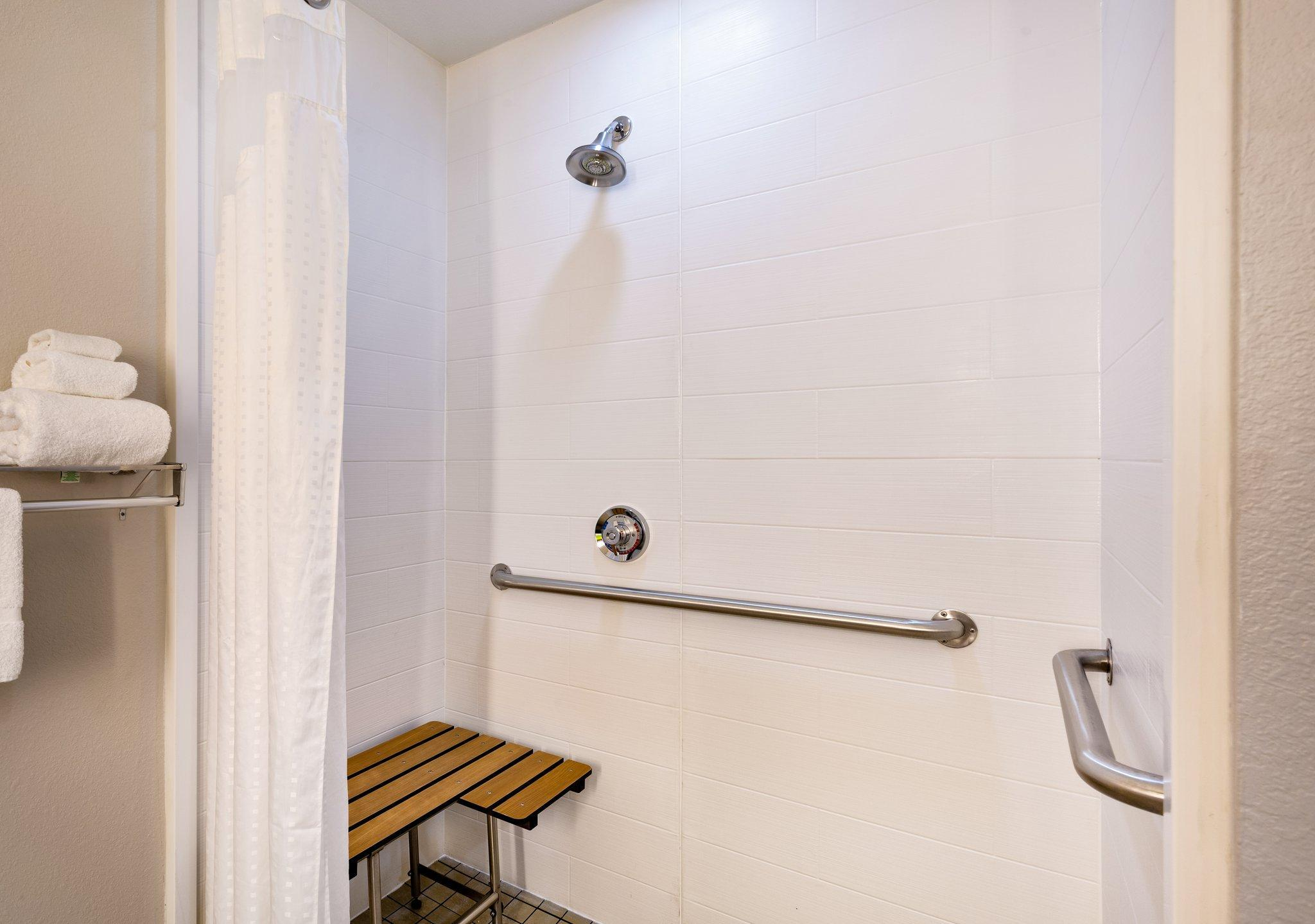 2 Bed Mobility Accessible Roll Shower Non-Smoking