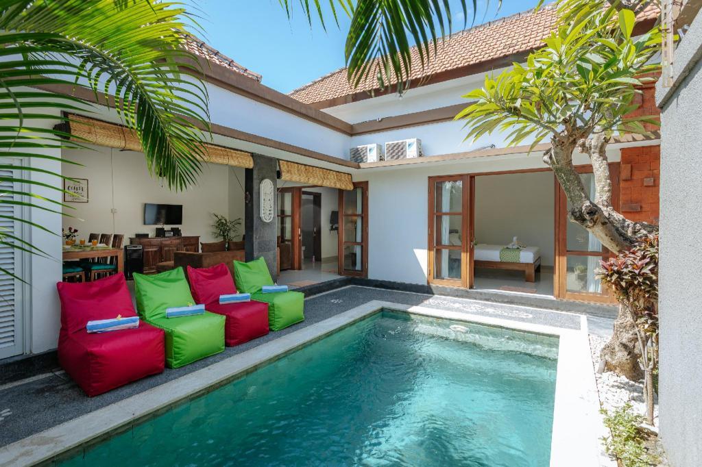 Seminyak Promo Rate 2 Bedroom Private Pool Villa Entire Villa Bali Deals Photos Reviews