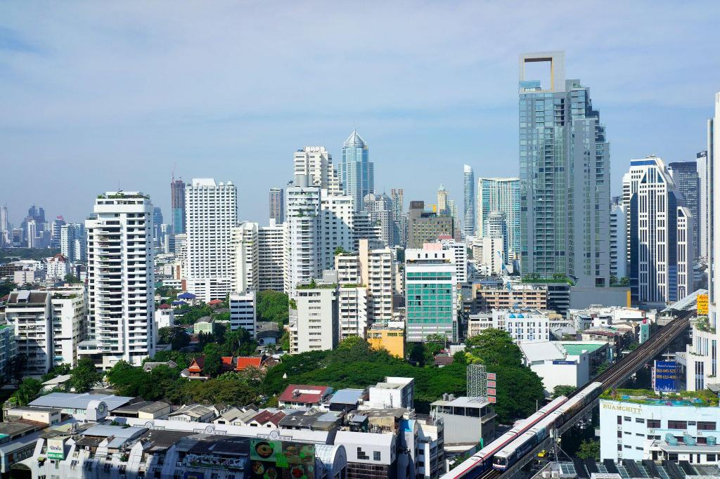 Deluxe, Guest room, 1 King, City view - View The Westin Grande Sukhumvit, Bangkok