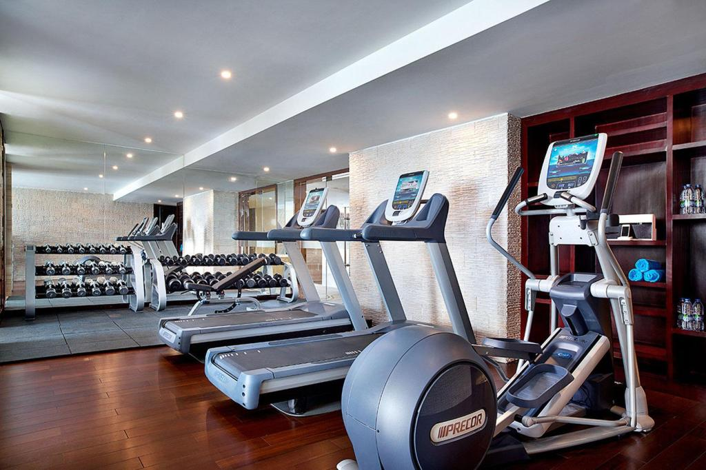 Fitness center Hangzhou Shama Heda Serviced Apartments