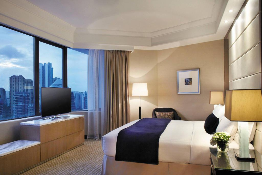Executive Suite Twin, Executive lounge access, Guest room - 客室内ベッド
