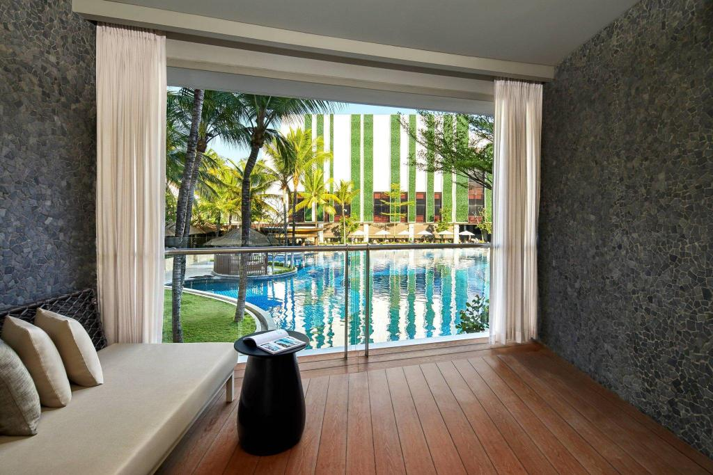 Deluxe Pool View King Bed, Guest room, 1 King, Pool view The Stones - Legian, Bali - A Marriott Autograph Collection Hotel