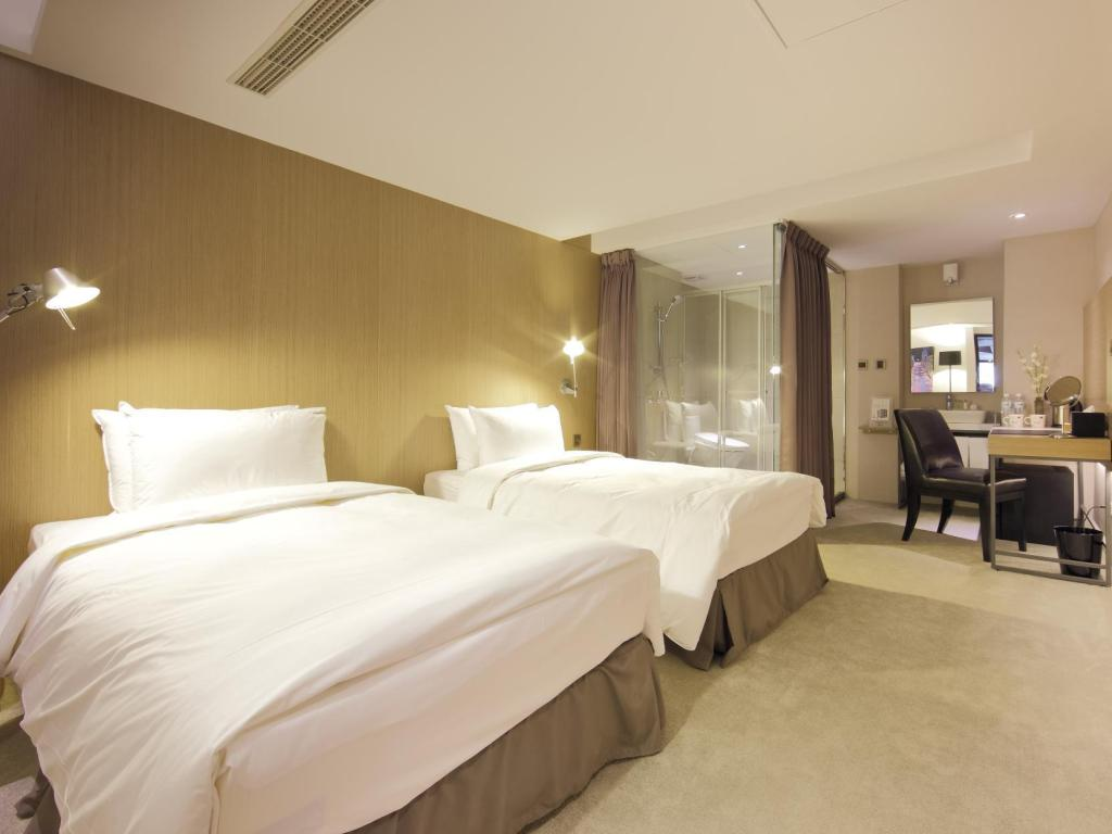 Standard Twin - Room plan Hotelday Taichung