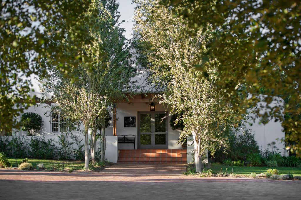 לובי Klein Welmoed Luxury Guest House