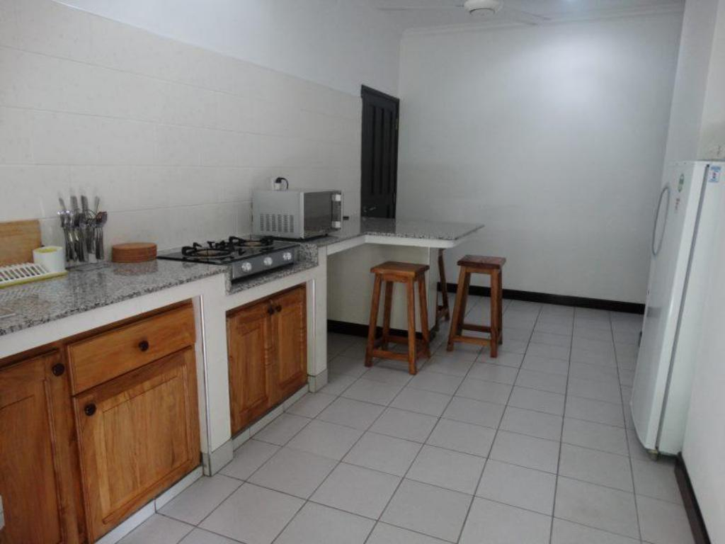 kitchen Anse Norwa Guest House