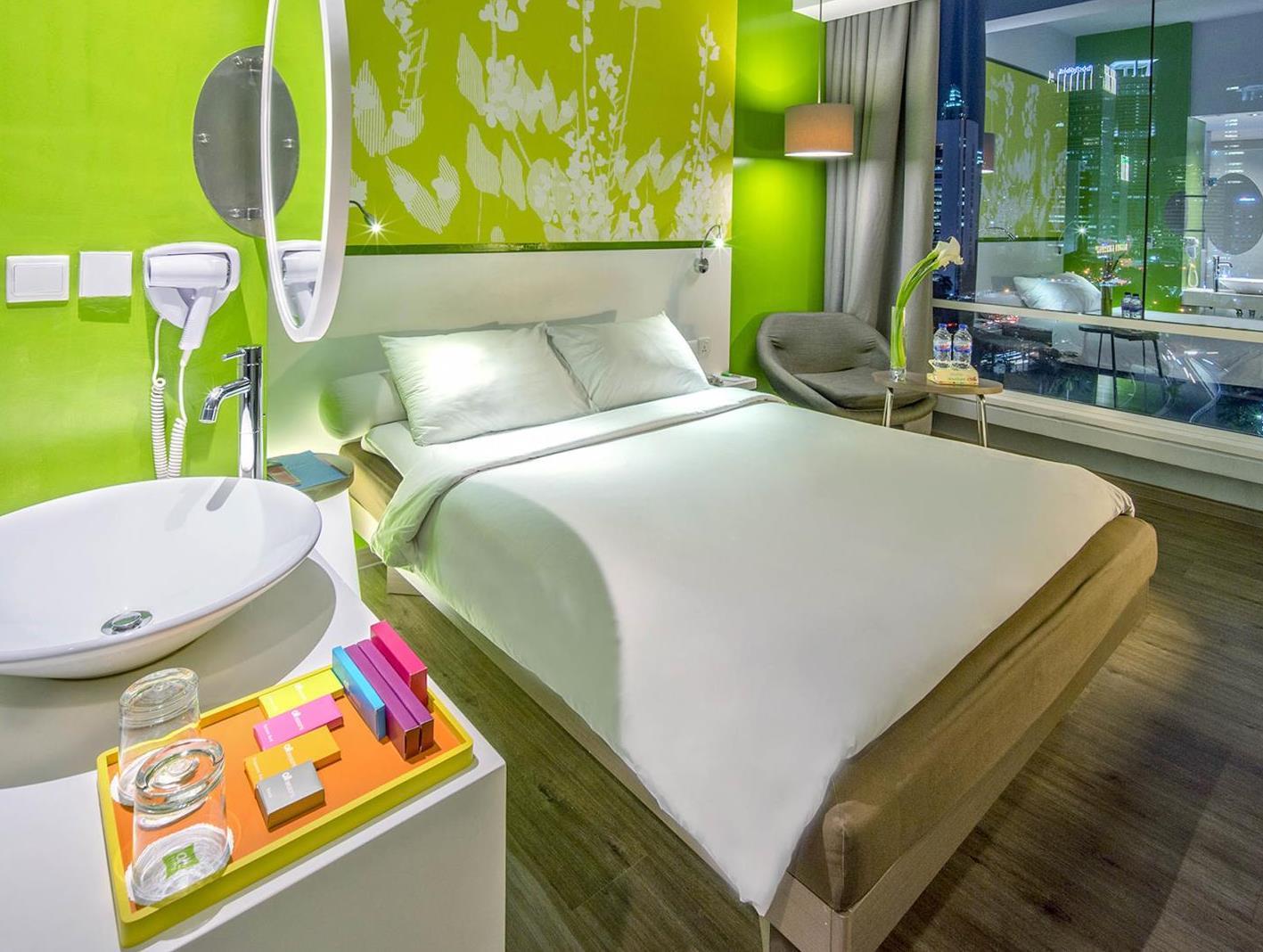 Deluxe Zimmer Mit Stadtblick U. Queensize Bett (Deluxe City View Queen Bed)