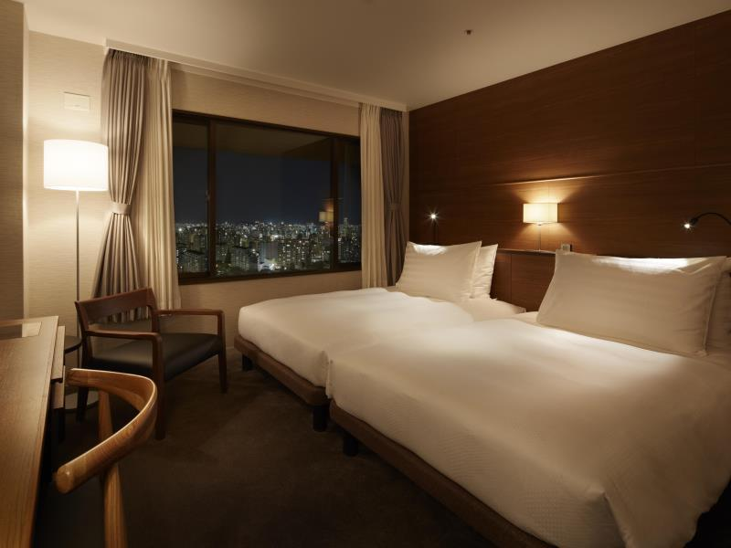 Hilltop城景房(兩床) - 禁煙 (Hilltop City View Twin Room - Non-Smoking)