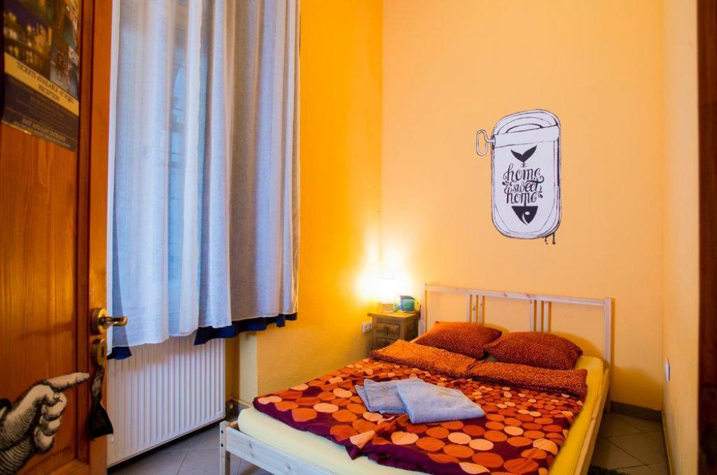 Double Bed Private Big Fish Budapest Hostel