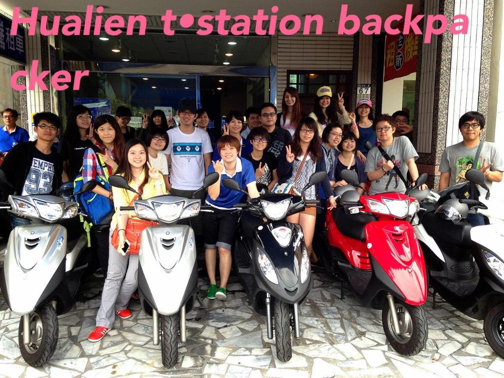 Reception Hualien Train Station Backpackers Hostel