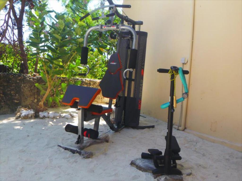 Fitness center Zanzest Beach Bungalows