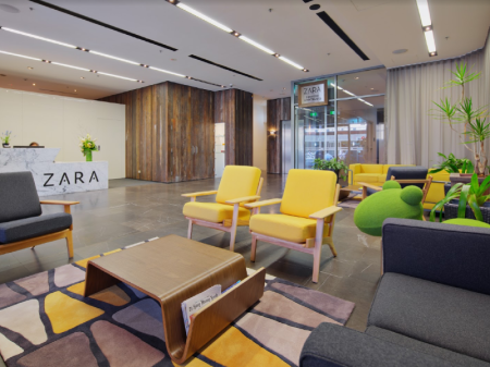 Lobby Zara Tower – Luxury Suites and Apartments