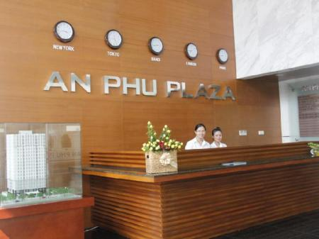 Lobby An Phu Plaza Serviced Apartment
