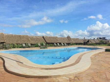 Piscina AA Lodge Amboseli
