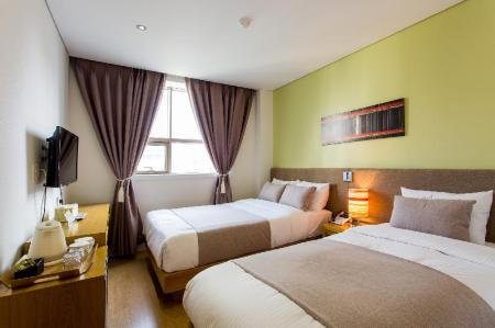 Superior Air Conditioning Rooms - Bedroom Busan Lamer Spa Hotel