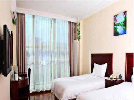 Twin Room GreenTree Inn Beijing East Yizhuang District Five Kechuang Street Business Hotel