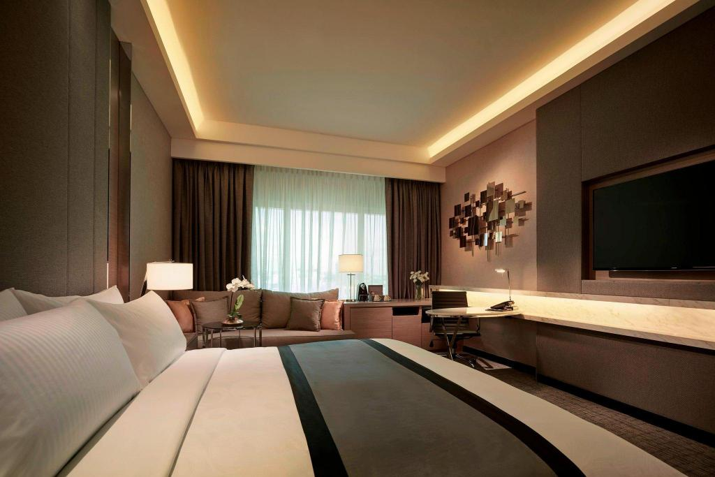 Deluxe Room King, Guest room, 1 King, City view 吉隆玻JW萬豪飯店 (JW Marriott Hotel Kuala Lumpur)