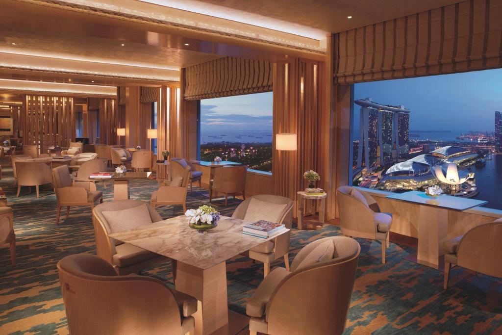 Club Deluxe Kallang, Club lounge access, Guest room, 1 King ザ リッツ カールトン ミレニア シンガポール (The Ritz-Carlton, Millenia Singapore)